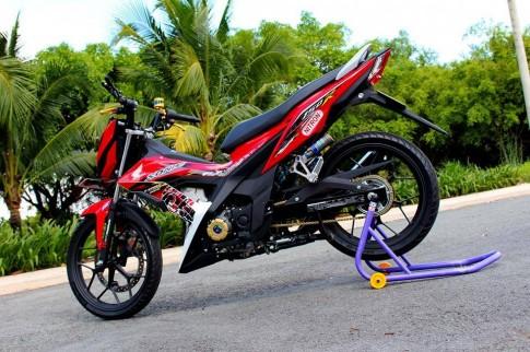 Honda Sonic 150R do khung cua biker Binh Duong