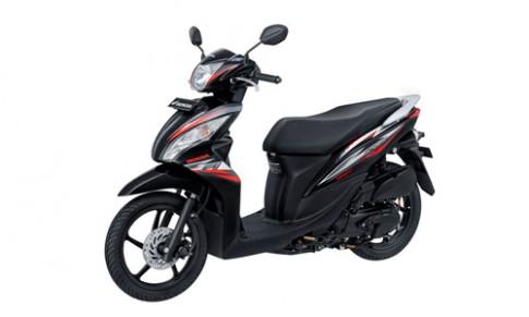 Honda Spacy 2015 phien ban moi voi bo tem moi dep va the thao hon