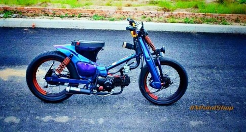 Honda Super Cub do cuc chat