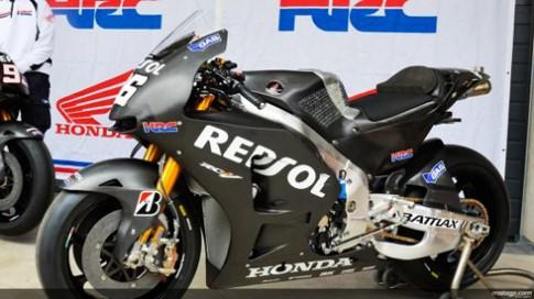 Honda trình làng xe mới cho mùa giải motoGP 2014