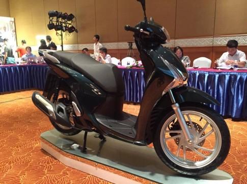 Honda Việt Nam ra mắt Sh 125/ Sh 150 mới