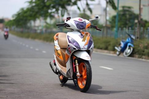 Honda Vision do noi bat voi phien ban Takegawa