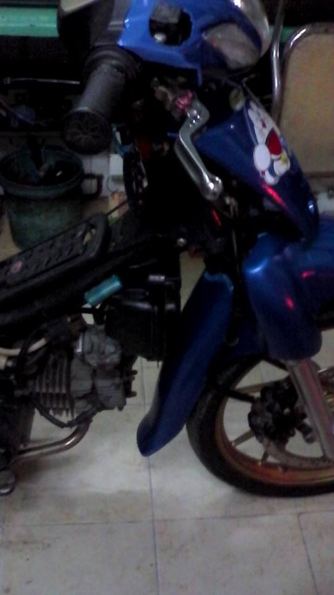 Honda Wave phiên bản Doremon keng xà beng