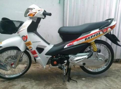 Honda Wave Repsol cua fan Marquez