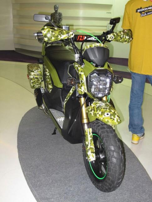 Honda Zoomer- X và hàng ngàn kiểu độ!!