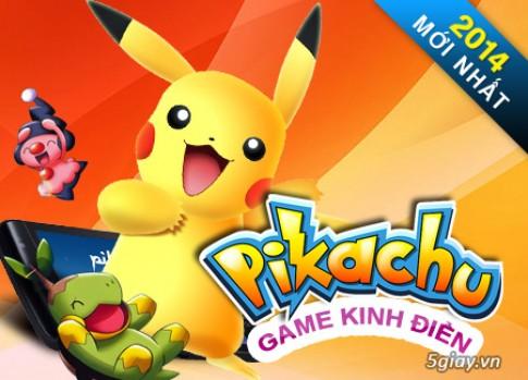 Hot! Pikachu version 2014 danh cho cac mem yeu Pikachu day!!.