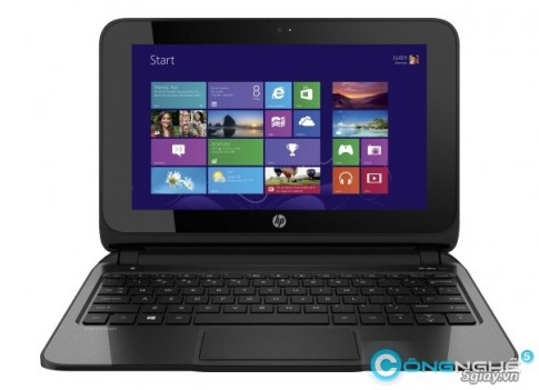 HP cho ra mat Laptop cam ung Windows 8 re nhat