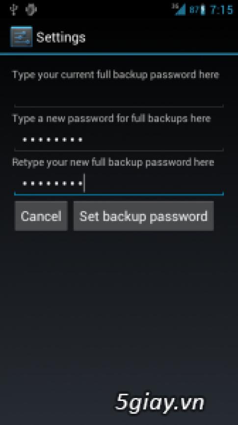 Huong dan cach Backup va Restore dien thoai Android thong qua may tinh Laptop/PC