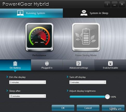 Hướng dẫn sử dụng công nghệ Power 4Gear trên laptop Asus