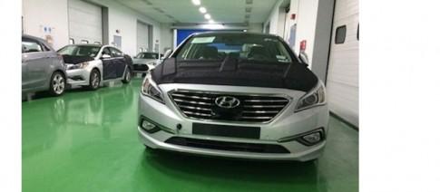 Hyundai tung ảnh chính thức đầu tiên của Sonata 2015