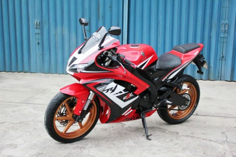 [Indonesia] Yamaha V-ixion độ phong cách siêu môtô M1