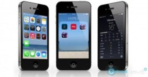 iPhone 4 có gánh nổi iOS 7?