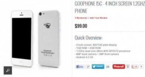 iPhone 5C 'hang nhai' chay Android ra mat voi gia 100 USD