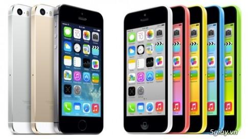 """iPhone 5c la """"quan tot"""" de thuc day doanh so iPhone 5s?"""