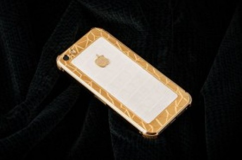 IPhone 5S ma vang boc da ca sau gia 35 trieu o VN