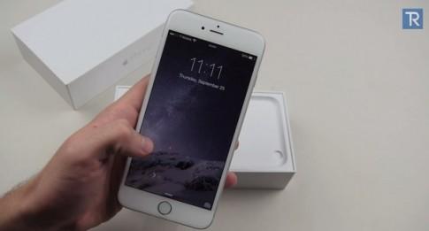 iPhone 6 Plus van dung tot sau khi bi xe hoi can qua hai lan