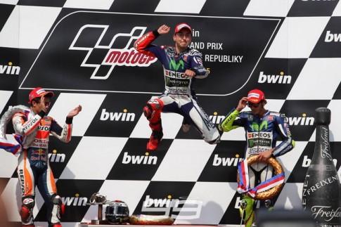 Jorge Lorenzo lập kỷ lục mới tại Automotodrom Brno, Séc