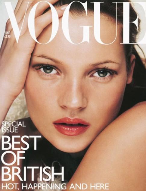 Kate Moss nhan giai dac biet cua Hiep hoi thoi trang Anh