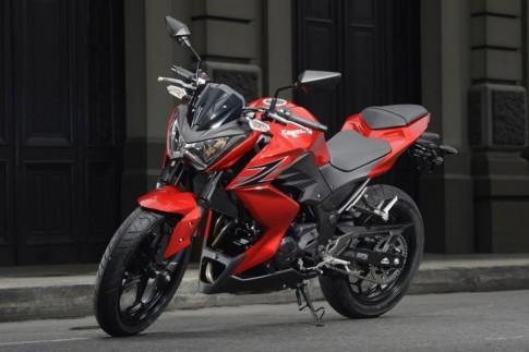 Kawasaki chuan bi ra mat hai mau moto moi