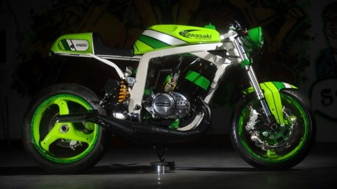 Kawasaki H2 do thanh Norley Cafe