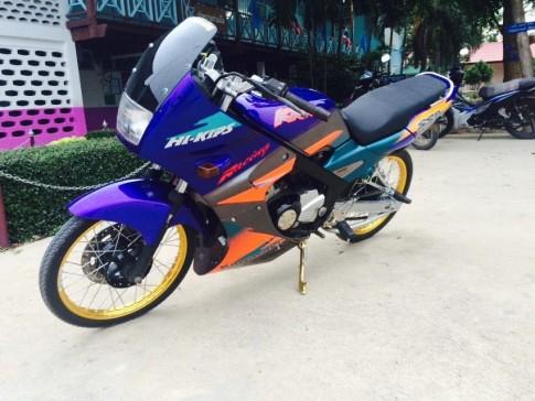 Kawasaki Kips 150cc vẻ đẹp của một chiếc xe 2 thì đích thực