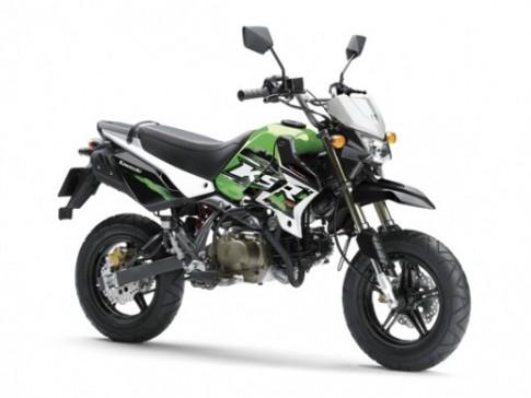 Kawasaki KSR 110 se duoc ban chinh hang tai VN