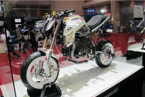 Kawasaki KSR do Z800 kieu mini !