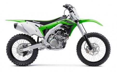 Kawasaki KX450F 2016 phiên bản mới được nâng cấp toàn diện