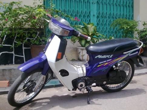 Kawasaki Max II - mot thoi vang bong