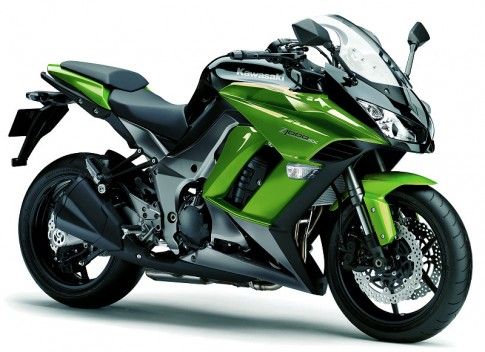 Kawasaki Ninja 1000 2013: Sinh ra co phai de chinh phuc nhung cung duong??