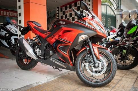 Kawasaki Ninja ABS 300 2014 đã có mặt tại Việt Nam