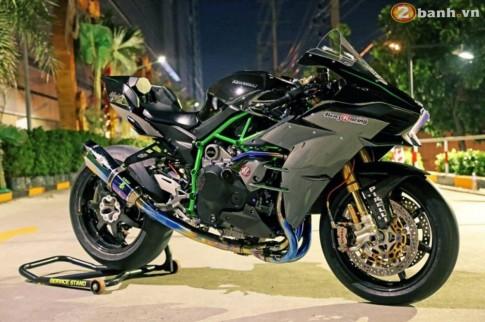 Kawasaki Ninja H2 tuyệt đẹp với phiên bản độ khủng