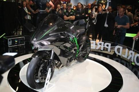 Kawasaki Ninja H2R Sieu Moto da ve Dong Nam A
