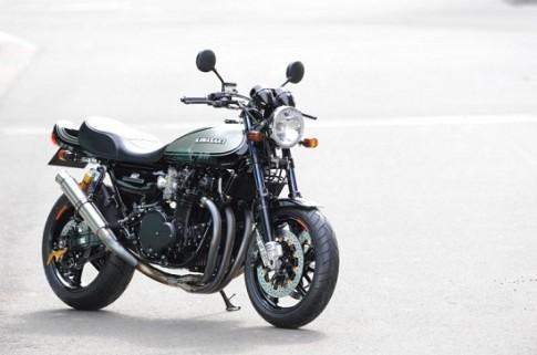 Kawasaki Z1 do phong cach cafe racer cua nguoi Nhat