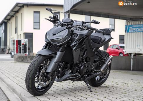 Kawasaki Z1000 2015 do sieu ngau voi phien ban Matt Black