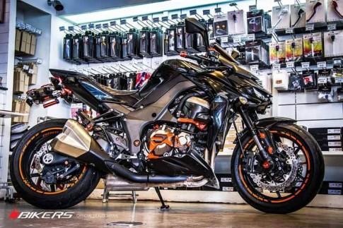 Kawasaki Z1000 phiên bản Biker Edition