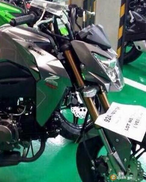 Kawasaki Z125 canh tranh truc tiep Honda MSX 125