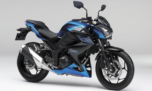 Kawasaki Z250 ABS 2015 them tinh nang ban 99 trieu dong