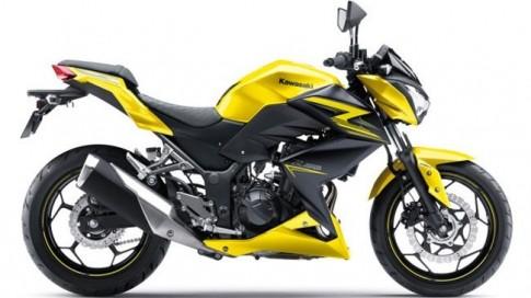 Kawasaki Z250 ra mat phien ban nang cap