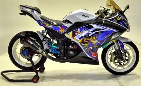 Kawasaki Z250 Sonic the Hedgehog