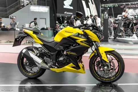 Kawasaki Z300 Chiec Nakebike co gia 140 trieu dong