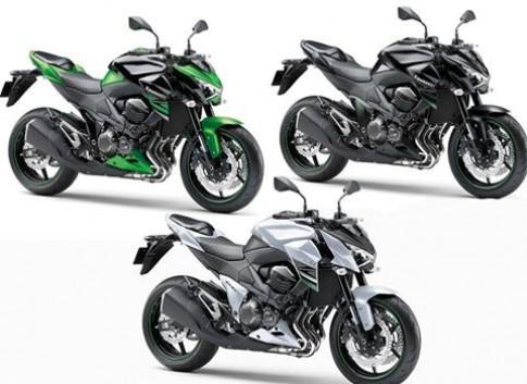 Kawasaki Z800 2015 ABS chuan bi ve Viet Nam