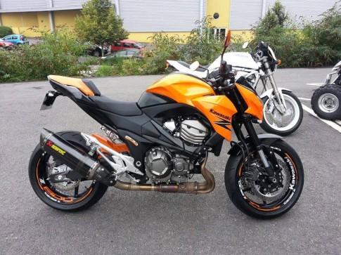 Kawasaki Z800 do ham ho