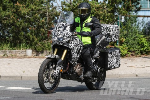 Kế hoạch chi tiết dòng xe Adventure Honda CRF1000L Africa Twin