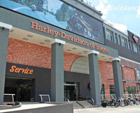 Kham pha cua hang chinh hang Harley-Davidson tai Sai Gon