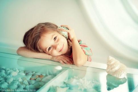 Khoảnh khắc hồn nhiên của trẻ thơ