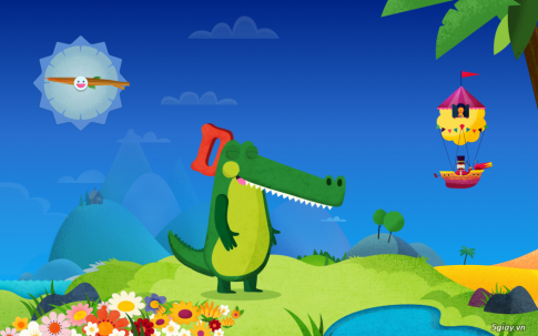 Kids Mode | Chế độ dành cho trẻ em trên Galaxy Tab S