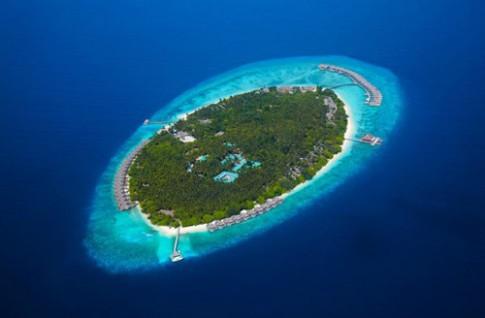 Kien truc resort o thien duong nghi duong Maldives