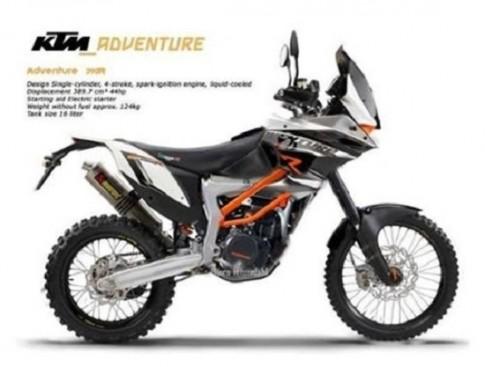 KTM 390 Adventure sẽ được trình làng vào tháng 11