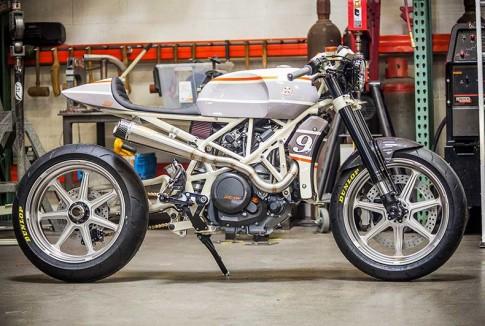 KTM 690 do Cafe Racer
